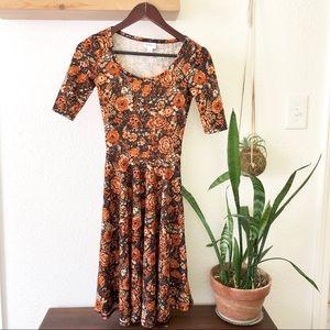 LuLaRoe floral dress NWOT